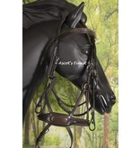 Havanna brown jumping bridle - Full
