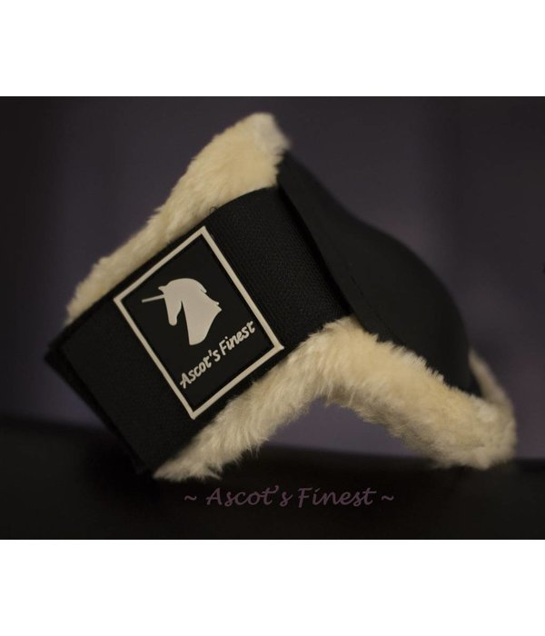 Ascot's Finest Strong and soft hind boots - black - Size Xfull, Full, Cob, Pony