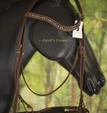 Ascot's Finest Bruin rundlederen Trekpaard hoofdstel