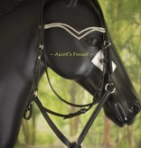 Ascot's Finest Jumping bridle - double V-strass - Cob