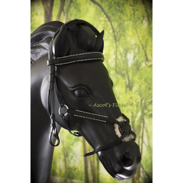 Jumping Figure 8 bridle - Full and Pony