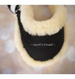 Ascot's Finest Neopreen singel met schapenvacht - Diverse maten beschikbaar