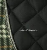 Ascot's Finest Donkergroen dekje met glitter - Full