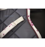 Ascot's Finest Flower saddle pad with firm filling - Cob