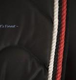 Ascot's Finest Zwart dressuur pad - Full