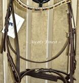 Ascot's Finest Shetlander & Mini-Shet rundlederen hoofdstel