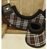 Ascot's Finest Springschoenen - Zwarte ruitjes Maat M t/m XXL