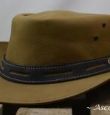 Ascot's Finest Beige rundlederen hoed