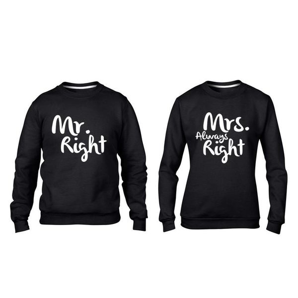 MR. RIGHT, MRS. ALWAYS RIGHT SWEATERS