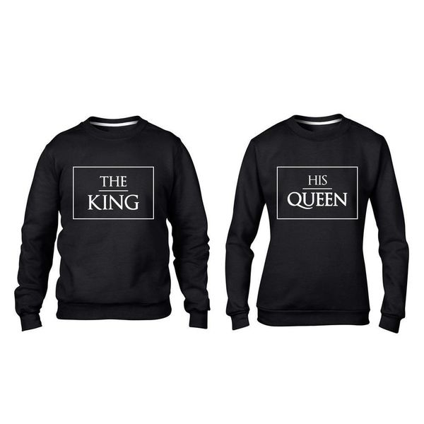 THE KING, HIS QUEEN SWEATERS