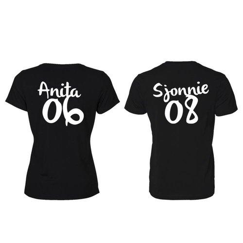 SJONNIE EN ANITA T-SHIRTS