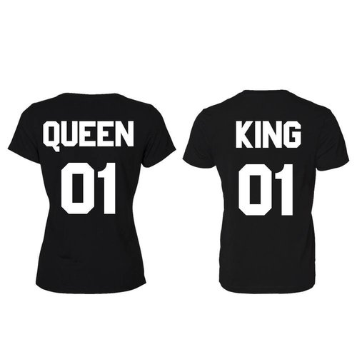 KING EN QUEEN T-SHIRTS