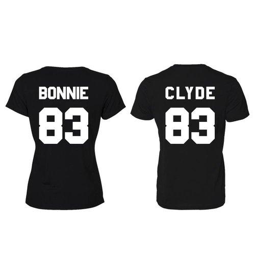 BONNIE EN CLYDE T-SHIRTS