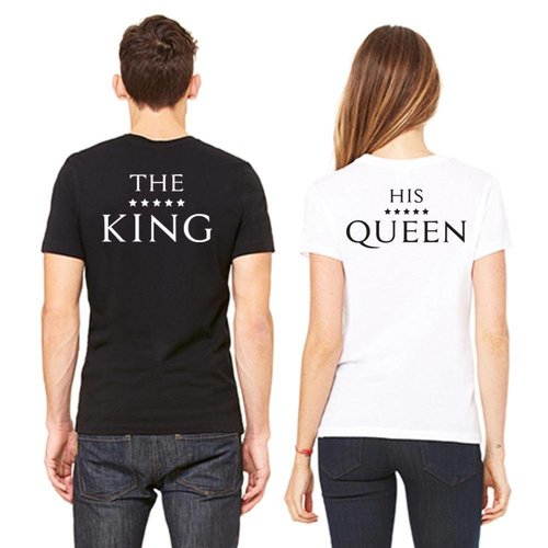 THE KING AND HIS QUEEN T-SHIRTS