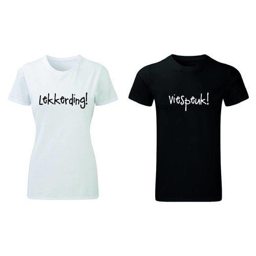 LEKKERDING EN VIESPEUK T-SHIRTS