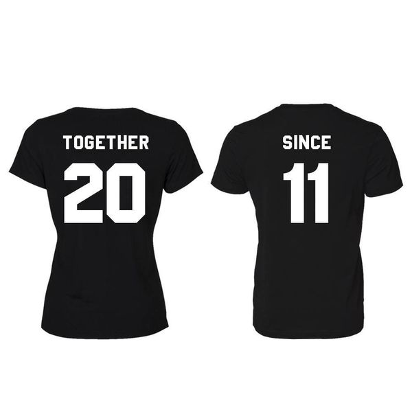 TOGETHER SINCE T-SHIRTS