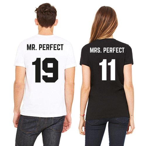 MR; MRS. PERFECT T-SHIRTS