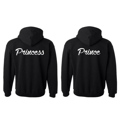 PRINCE EN PRINCESS HOODIES
