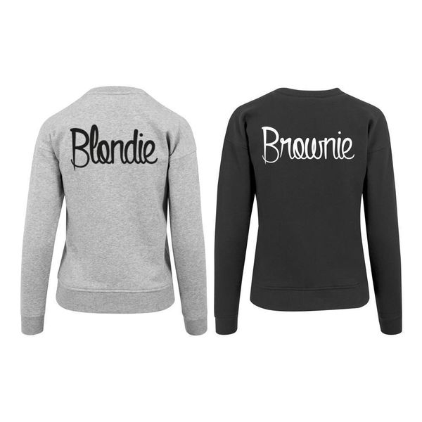 BLONDIE EN BROWNIE SWEATERS