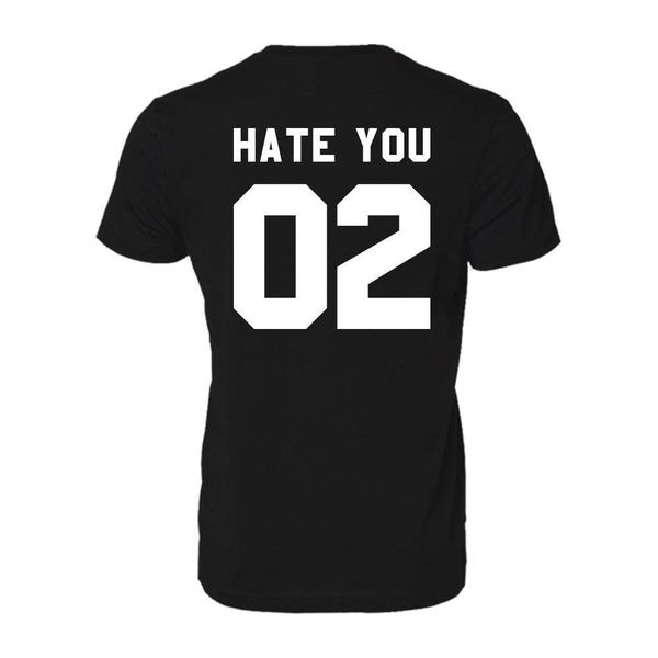 HATE YOU 02 HEREN T-SHIRT