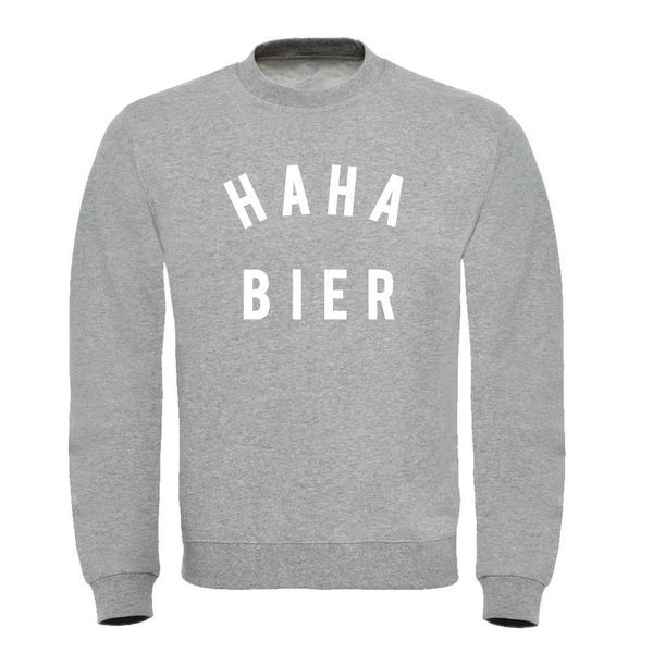 HAHA BIER HEREN SWEATER