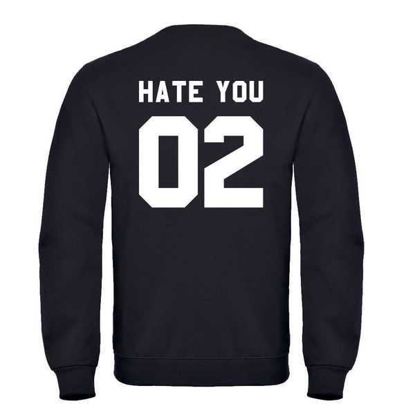 HATE YOU 02 HEREN SWEATER