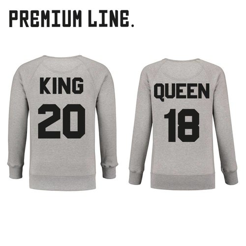 PREMIUM KING EN QUEEN SWEATERS