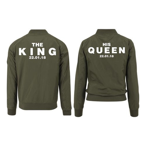 KING EN QUEEN BOMBER JACKETS