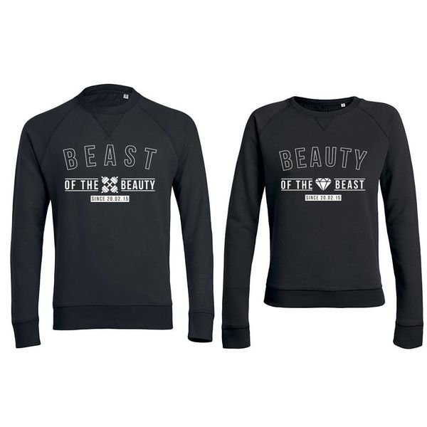 THE BEAST AND THE BEAUTY SWEATERS MET DATUM