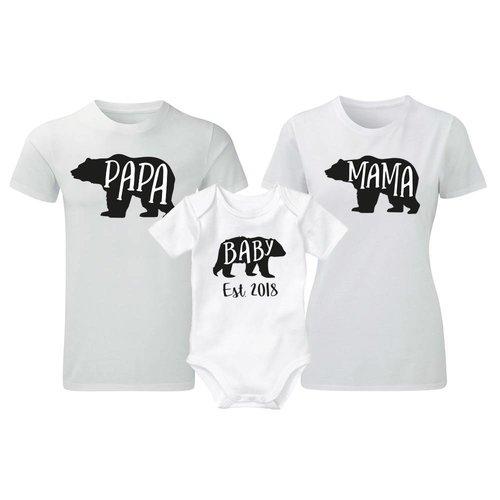 Papa, Mama & Baby Bear