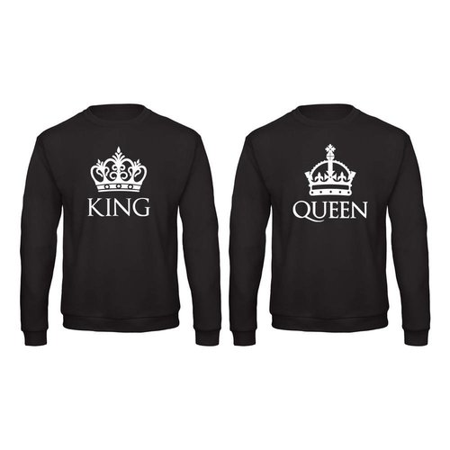 BASIC KING & QUEEN SWEATERS MET KRONEN
