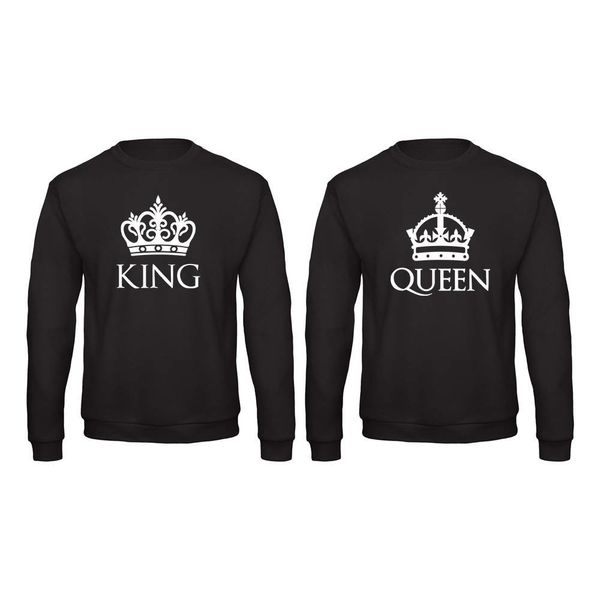 BASIC KING & QUEEN SWEATERS SET MET KRONEN