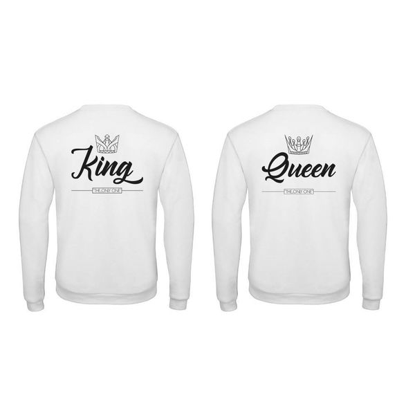 BASIC KING & QUEEN SWEATERS SET THE ONLY ONE