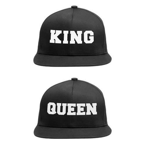 KING & QUEEN SNAPBACK CAPS SET
