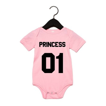 PRINCESS BABY-ROMPERTJE