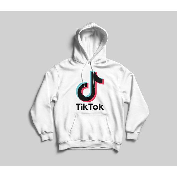 TikTok hoodie kinderen - Wit