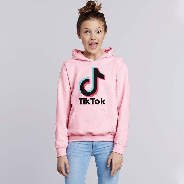 TikTok hoodie kinderen - Roze