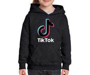 TikTok hoodie Zwart | Binnen 2 werkdagen verzonden