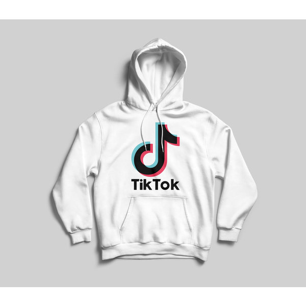 TikTok hoodie Unisex - Wit