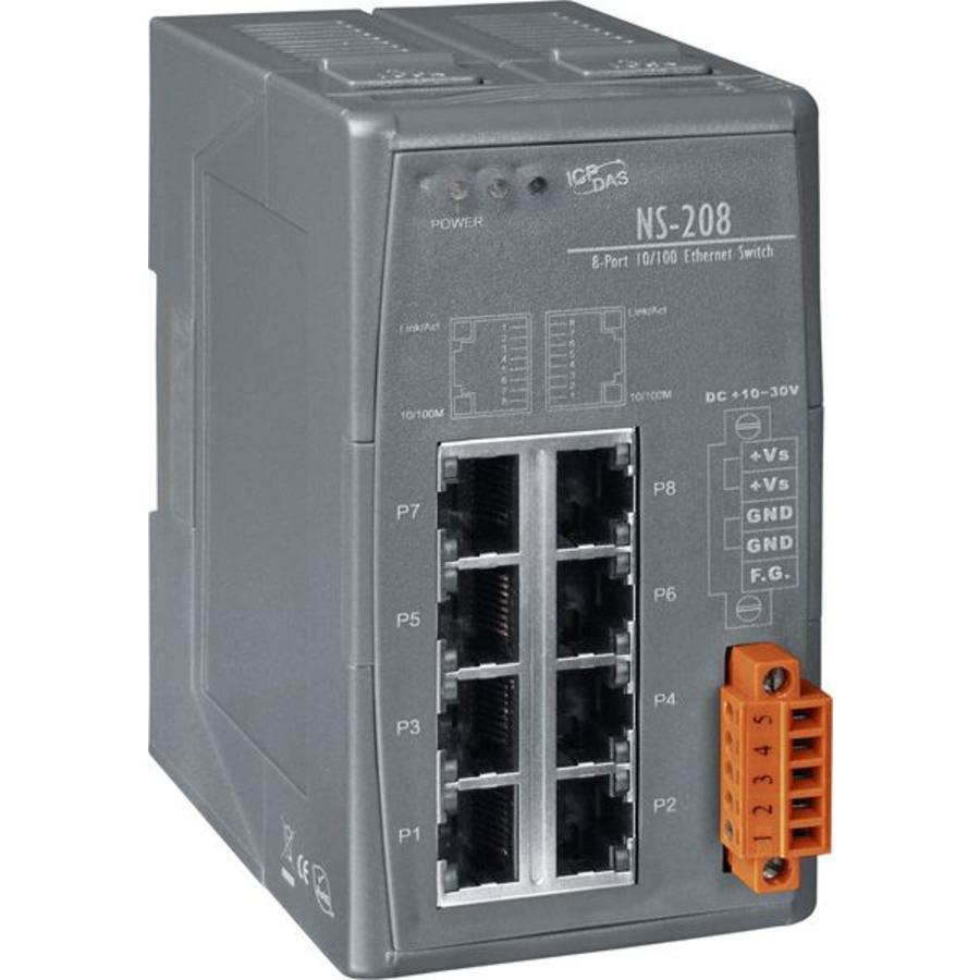 NS-208-CR Ethernet-switch / 8 poorten-1