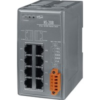 thumb-NS-208-CR Ethernet-switch / 8 poorten-2