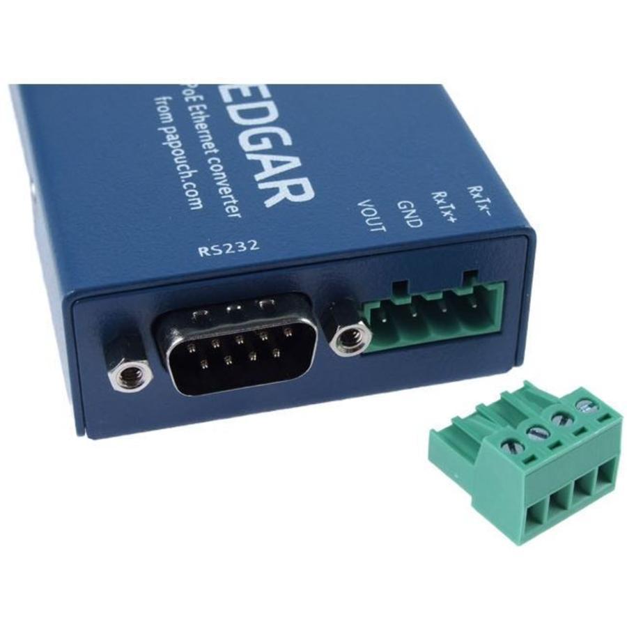 EDGAR PoE Ethernet seriële apparaatserver-3