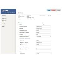 EDGAR PoE Ethernet seriële apparaatserver