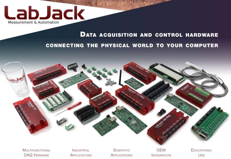 De 2018 Brochure van LabJack USA