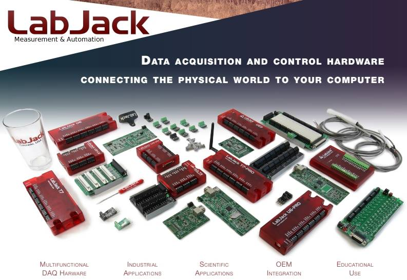 The new 2018 LabJack USA Brochure