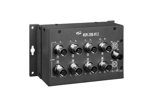 ICPDAS NSM-208-M12 CR