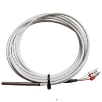 PT1000/4-wire Temperatuur Sensor, Teflon Cable 3 meter
