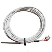 PT100/4-wire Temperatuur Sensor, Teflon Cable 3 meter