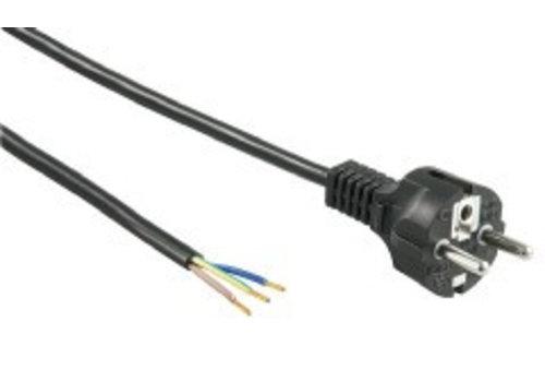 Netsnoer 230VAC, 1.5m-Recht-FWL