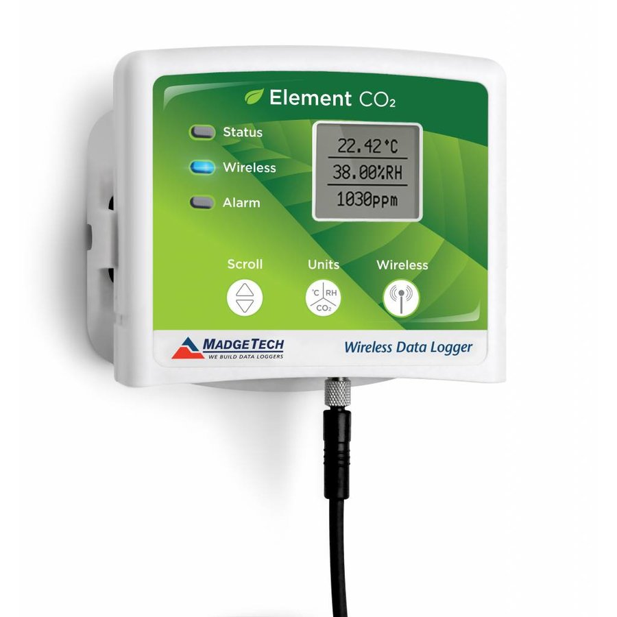 Element CO2 draadloze datalogger-2